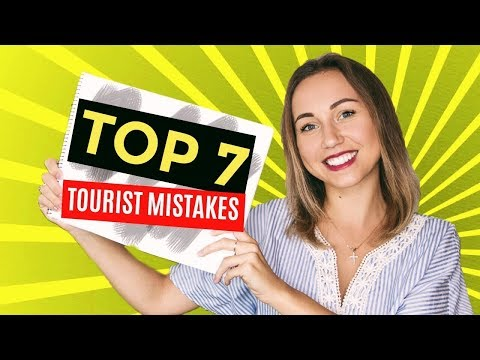 TOP 7 Tourist Mistakes. Travel To Dubai City 2017.
