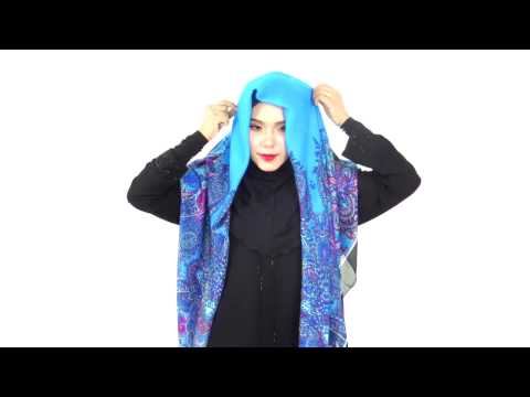 Tutorial Tudung Bawal Bidang 60 - TALIKA #2 by Lujina Scarf - YouTube