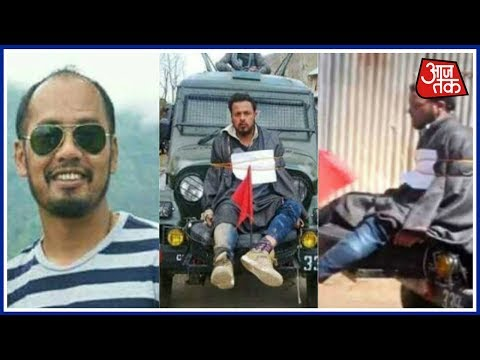 Aaj Subah: Indian Army Chief Honors Major Gogoi, Who Tied Kashmiri Man To His Jeep