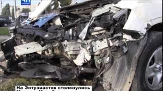 В выходные в Саратове произошло сразу несколько аварий по вине пьяных водителей
