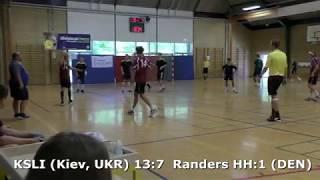 Handball. Randers HH:1 (DEN) - KSLI (Kiev, UKR). Viborg. U16boys. Gr PO-A3. GENERATION HANDBALL-2018