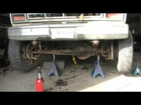 Dana 60 solid axle swap on a f-250 with dana44 TTB