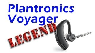 Plantronics Voyager Legend UC Bluetooth Headset Review. Audio Samples