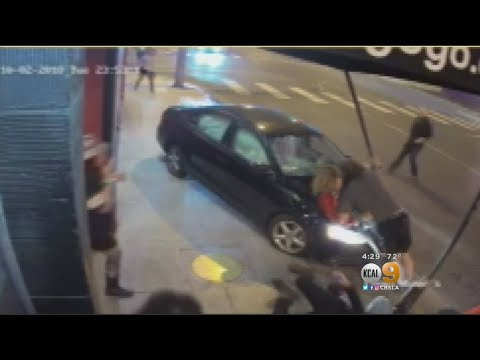 Drunk Driver Barrels Into Crowd Outside Whisky A Go Go, 3 Hospitalized from YouTube · Duration:  1 minutes 43 seconds