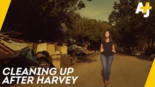 Cleaning Up After Hurricane Harvey   Direct From With Dena Takruri - AJ+