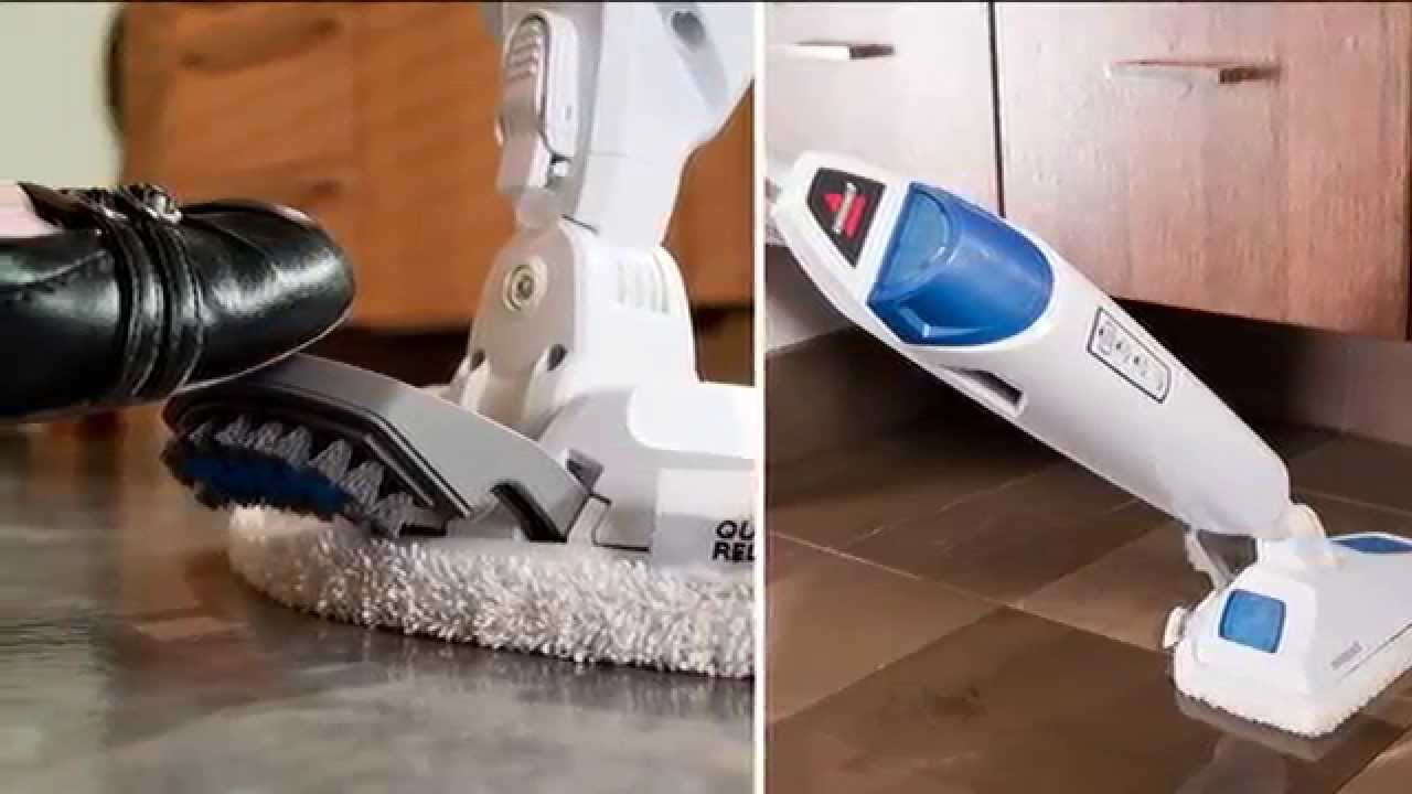 how to use bissell steam mop