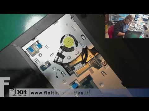 Cliente arrabbiato rompe spinotto computer Lenovo B50-80. Smontaggio e riparazione  connettore
