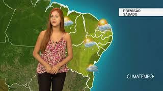 Previsão Nordeste - VCAN na costa da BA