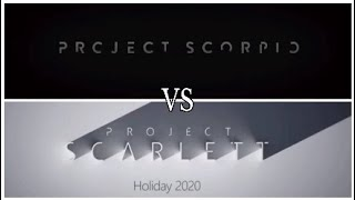 Does Xbox Scarlett and Xbox Scorpio have identical trailers?