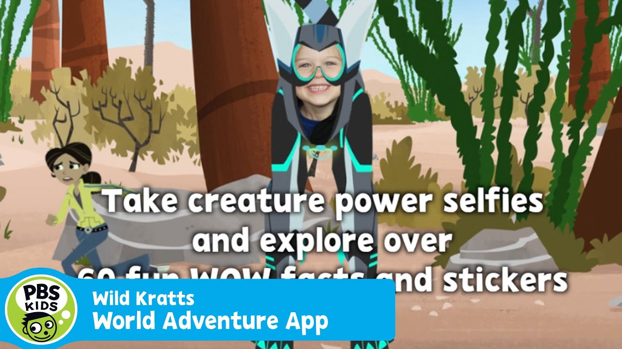 APP | Wild Kratts World Adventure *NEW UPDATE* | PBS KIDS - YouTube