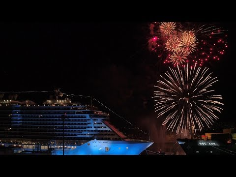 MSC Seaside At Star Studded Ceremony At PortMiami, Florida - Unravel Travel TV