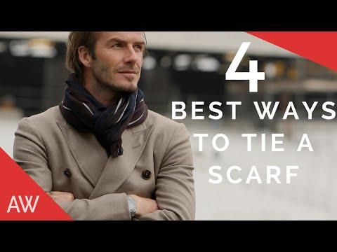 How To Tie Scarves For Men