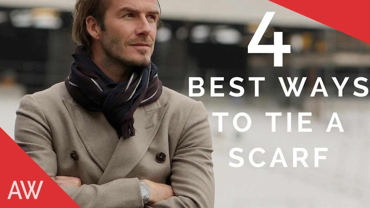 To acquire How to neck a wear scarf male picture trends