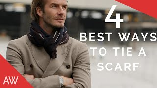 How To Tie Scarves For Men - Men