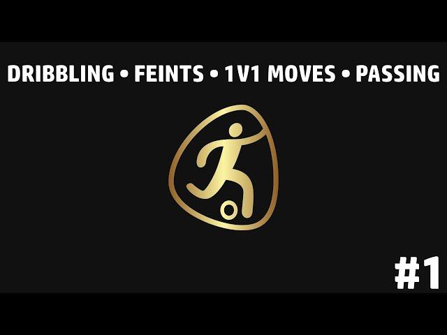 Individual football training • Dribbling • Feints • 1v1 moves • Passing (HD)