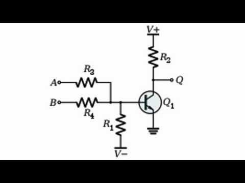 Элементы резисторно-транзисторной логики