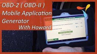 Yaratmak Tamamen Özel menü arabirimi Mobil Uygulamaları Etkin OBD-2 ( OBD-II )Mobil Uygulama Jeneratör-