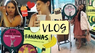 VLOG | The Body Shop Go Bananas Event & Mini Mukbang!