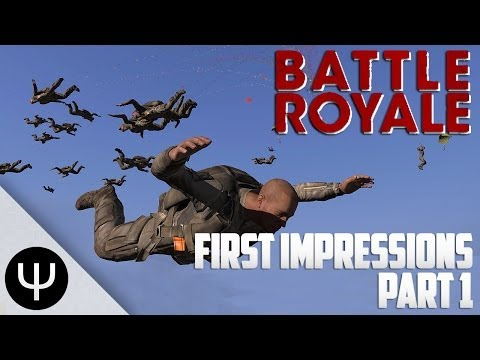 ARMA 3: Battle Royale Mod — First Impressions — Part 1 — Tower Troubles!