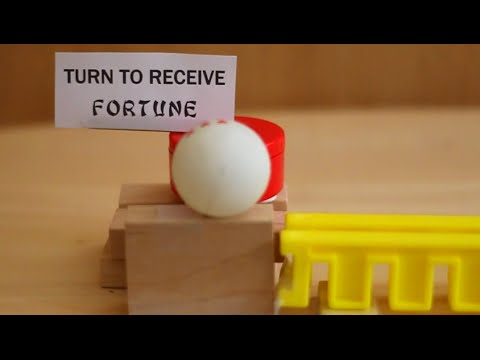 Behind the Scenes - The Fortune Telling Machine (Rube Goldberg)