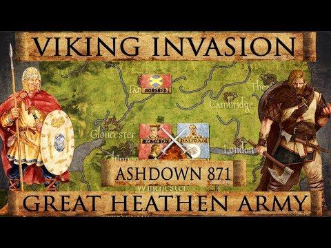 Vikings: Great Heathen Army - Battle of Ashdown 871 DOCUMENTARY