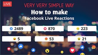 How to make a Facebook live poll with Live Social Count | Hindi by ekkvillian.