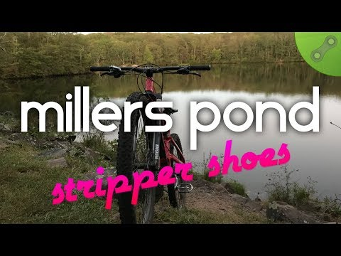 Stripper Shoes (Yellow Blazes) at Millers Pond State Park, Durham, CT :: Mountain Biking Connecticut