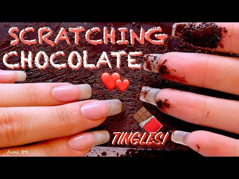 NEW so intense experience sound: SCRATCHING CHOCOLATE! 🍫 Real ear-to-ear ASMR! 🎧