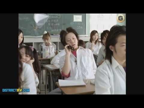 Tommy Lee Jones Teacher Japanese Coffee Ad
