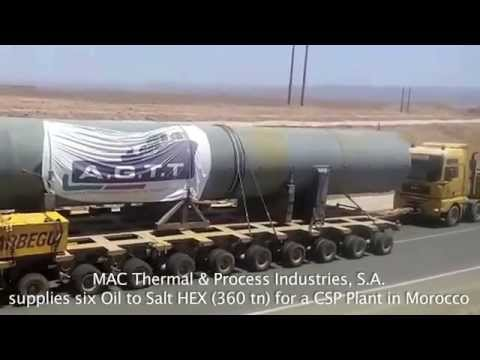 Oil to Salt HEX   Morocco CSP PLant mp4