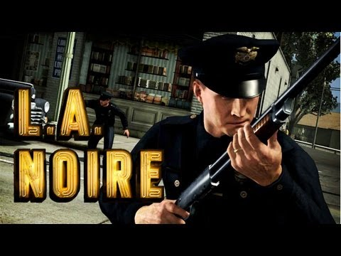 LA Noire - Let's Play Part 1 - L.A.P.D. Beat (off) Cop