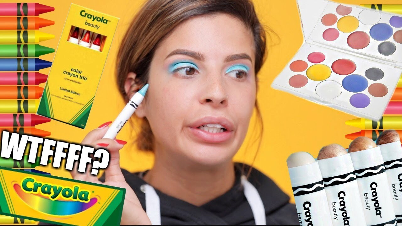crayola makeup hit or miss youtube