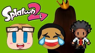 Playing with Failboat, JayMoji, Queen and Etce! (Splatoon 2 Funny Moments)