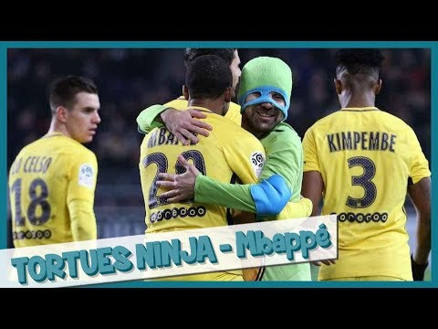 Teenage Mutant Ninja Turtles invade field PSG - Prank