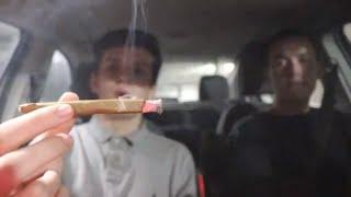 SMOKING A CHERRY BLUNT