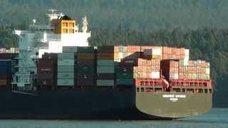 Container ship Hapag-lloyd Budapest Express