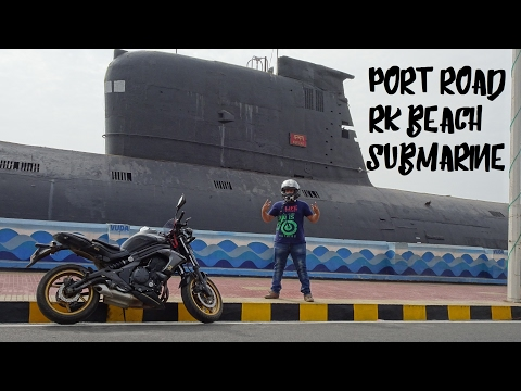 Vlogging In Vizag | Port Road | RK Beach | INS Kursura