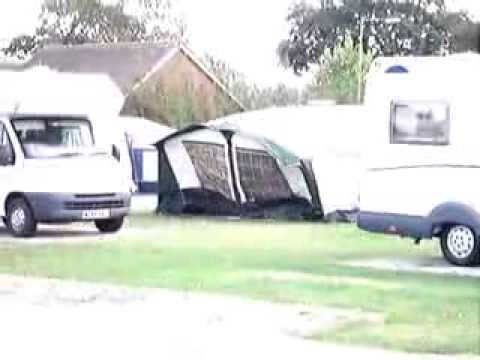 Caravan Awning Disaster News Flash Youtube