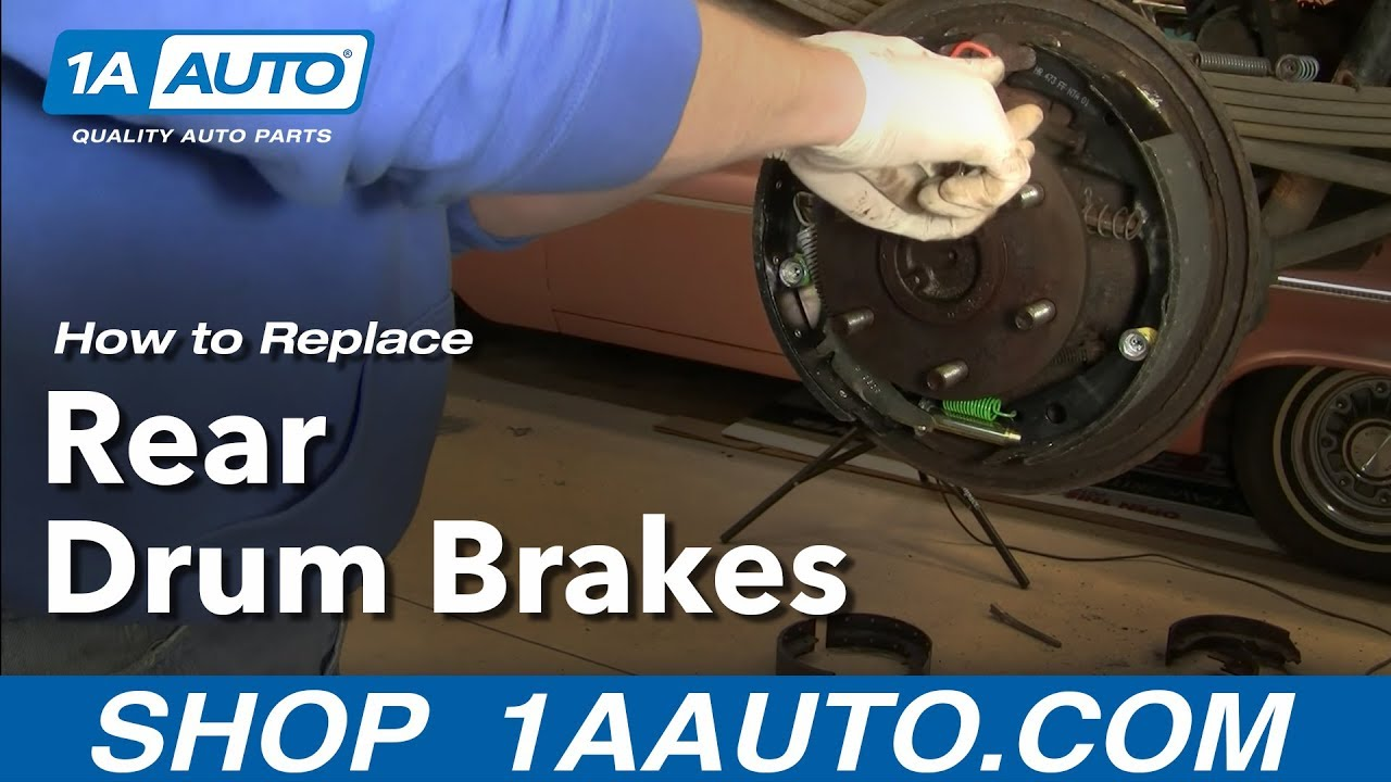 how to install replace rear drum brakes chevy gmc pickup tahoe suburban 92 99 1aauto com [ 1280 x 720 Pixel ]