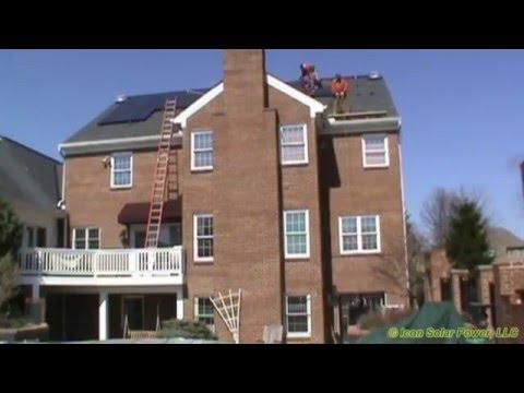 Icon Solar Power, LLC Solar PV Install