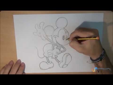 Dibujar A Mickey Mouse Youtube