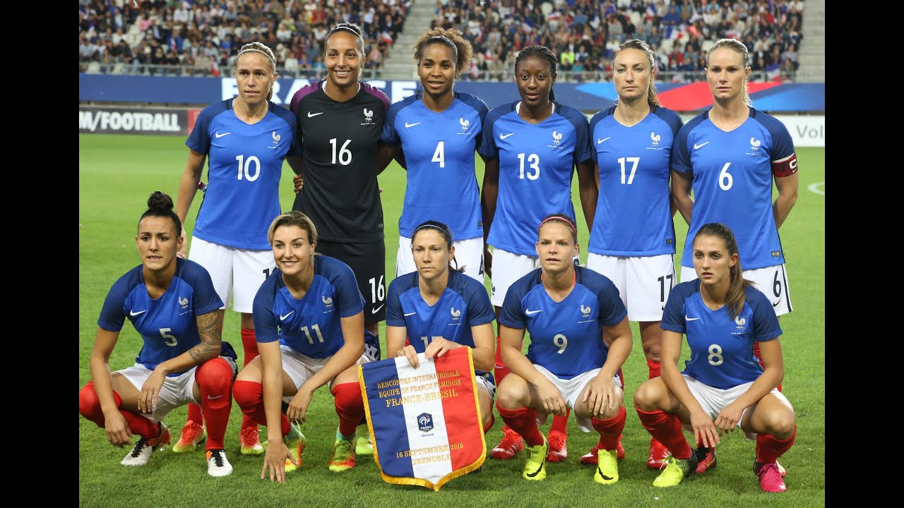 Equipe De France Feminine Retours Sur France Bresil 1 1 Youtube