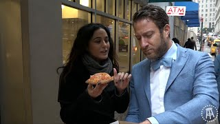 Barstool Pizza Review - Pomodoro Pizza With Special Guest Emmanuelle Chriqui