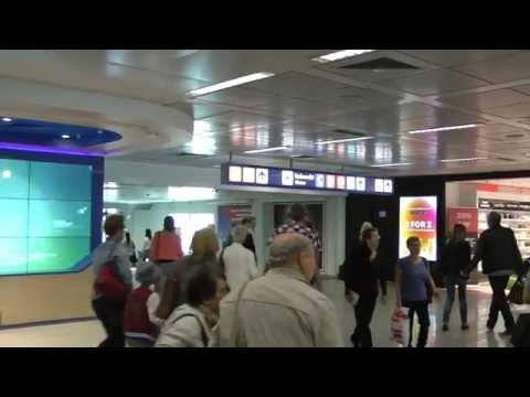 Rome Fiumicino Airport Italy