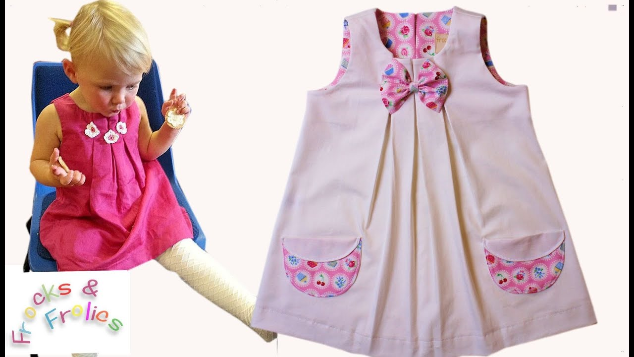 Sewing Pattern - Summer Dress for little Darlings - YouTube