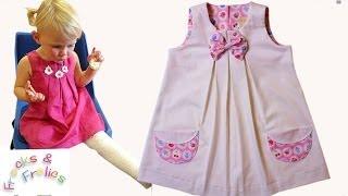Sewing Pattern - Summer Dress for little Darlings