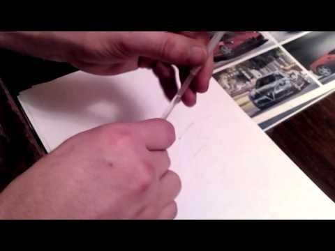Как сделать чтобы гелевая ручка начала писать