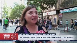 Tu Bolsillo: Chilenos acusan dificultad para terminar contratos de servicios con empresas