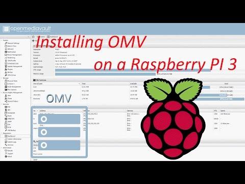 DIY NAS – Installing OpenMediaVault (OMV) on a Raspberry Pi 3 (Raspbian Jessie) + OMV-extras