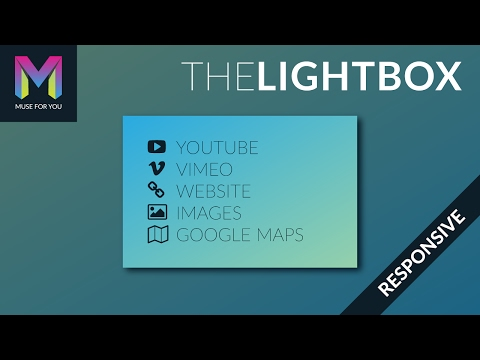 The Lightbox Widget   Adobe Muse CC   Muse For You